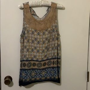 Almost Famous Cute Sleeveless Blouse